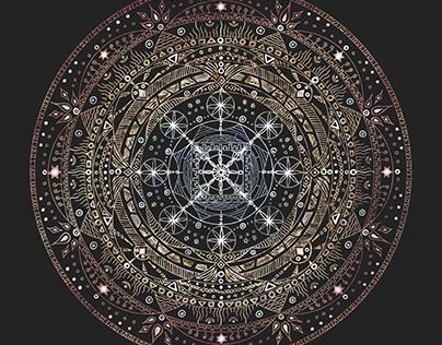 "Mandala ""Tranquility"""