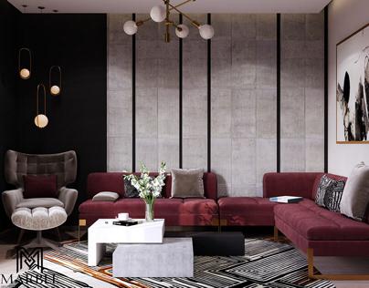 Modern Design For Living Area