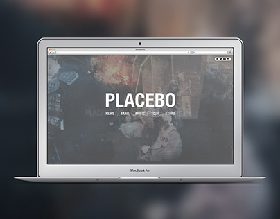 Placebo - Website Concept