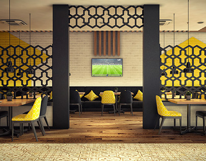 Paradise Cafe Interior Design