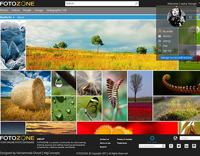 FotoZone, Online Image Database - Test3 - Result Page