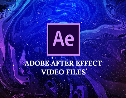 Adobe After Effect - video files