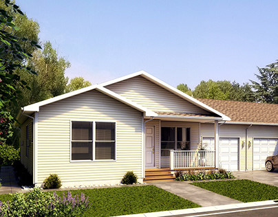 Modular Homes Renderings - Northstar Systembuilt