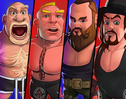 WWE #Character Design