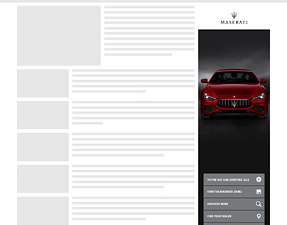 Maserati devil ad unit