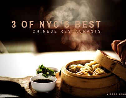 3 of NYC's Best Chinese Restaurants