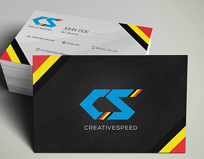 CreativeSpeed Business Card