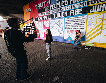 Behind the Scenes of Ghosts Of Grenfell (Video + Photo)