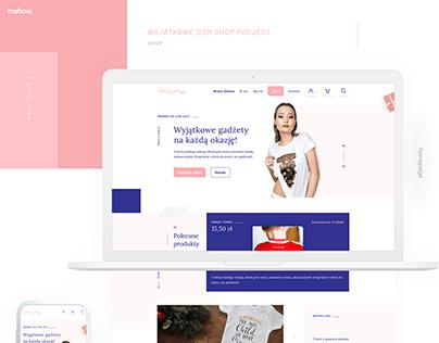 Wyjątkowe - Shop Project