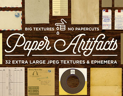 Paper Artifacts | Ephemera and Textures