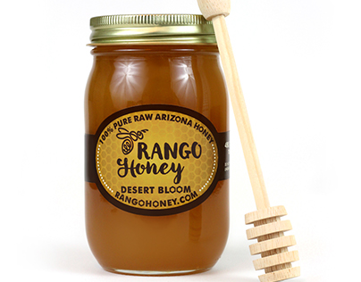 Rango Honey Product Photography