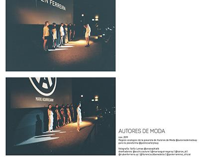 Pasarela | AUTORES DE MODA UY