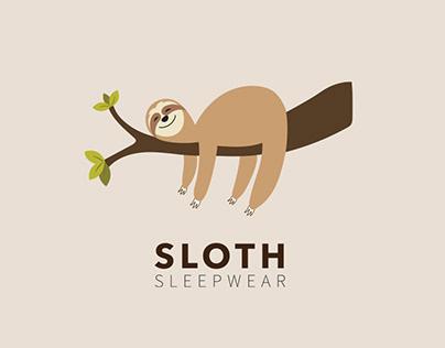 Sloth Sleepwear Brand - Logo