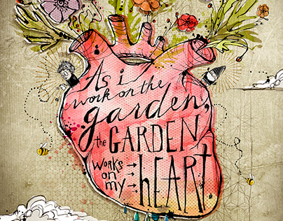 Garden journal cover