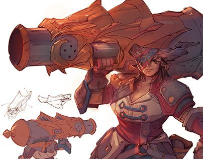 Shardbound - Pirate Cannoneer