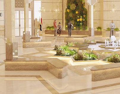 University reception - Islamic style