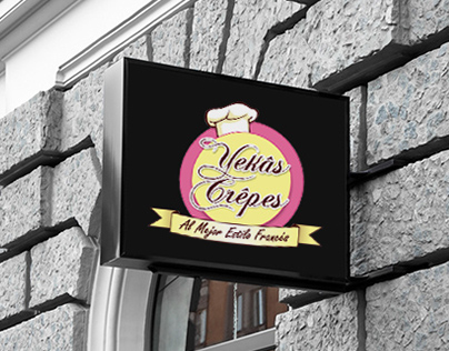 Yekas Crepes - Branding & Packaging