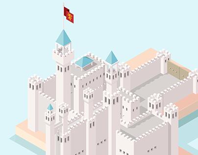 Isometric Castle