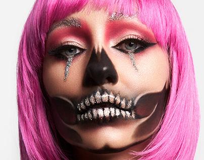 Halloween Skull Makeup
