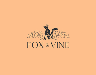 Fox and Vine brand identity / deli-cafe branding