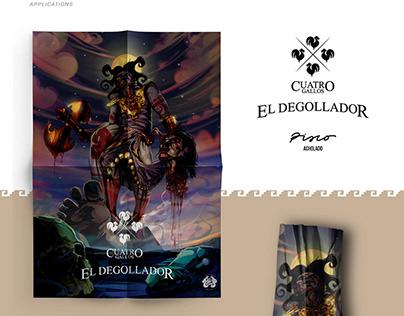 El Degollador - Illustration Packaging