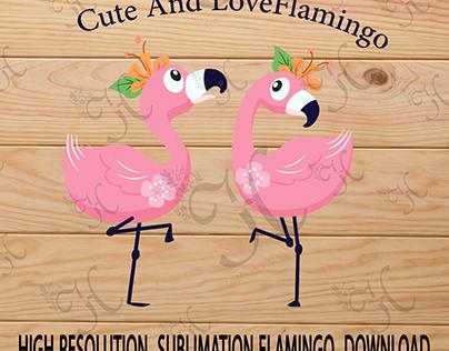 flamingo sublimation