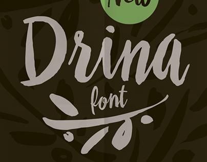 DRINA font