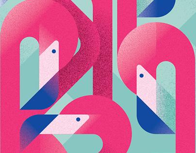 Flamingos of Miami
