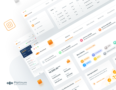 Cryptocurrency platform for buy tokens