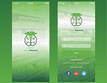 Mobile App UI\UX Design for Smart Pharmacy