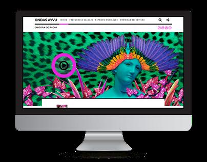 Sitio Web Ondas Ayvu