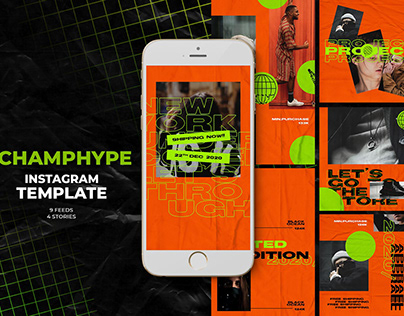Champhype Instagram Templates