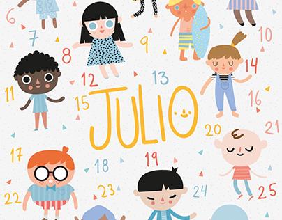 Calendario Territorio mx