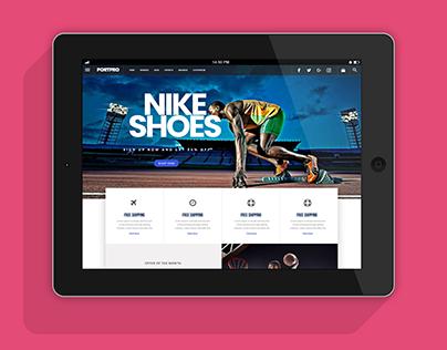 Sports Store Web Site Design
