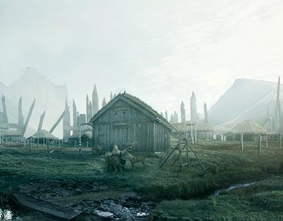 Vikings | Matte Painting