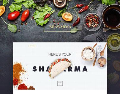 Restaurant. Food. Website