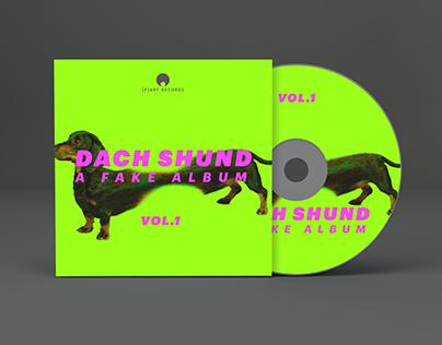DACH SHUND - Lp Cover Design
