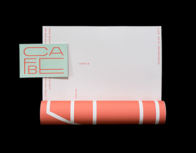 Visual Identity – Cafe B