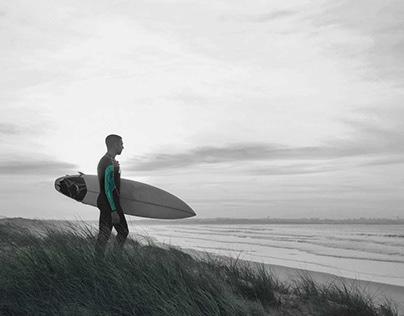 Surf Lifestyle Logo, Identity and Brand Development