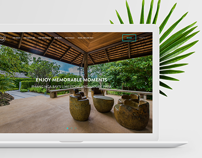 SAMSAM Resort Website Design