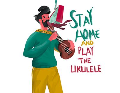 #Stayhome Illustrations