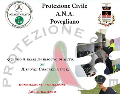 Flyer - Protezione Civile Povegliano