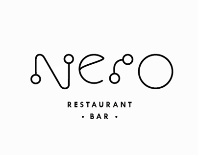Logo proposal for restaurant Nero
