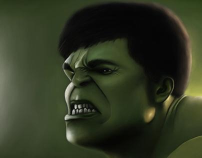 Hulk (digital painting)