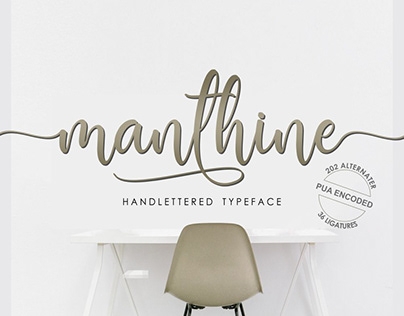 Manthine Font Project