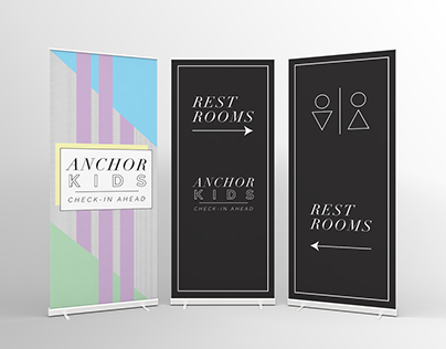 Anchor Church/THE VIVE Signage