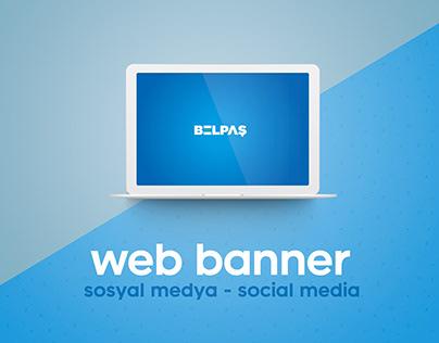SBB - Belpaş Web Banner Tasarımları