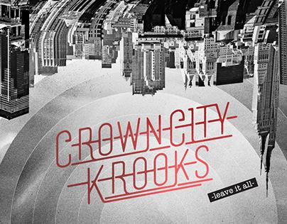 Crown City Krooks Brand Identity