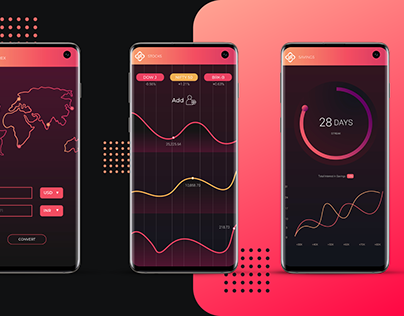 Branding & App Design - Stack