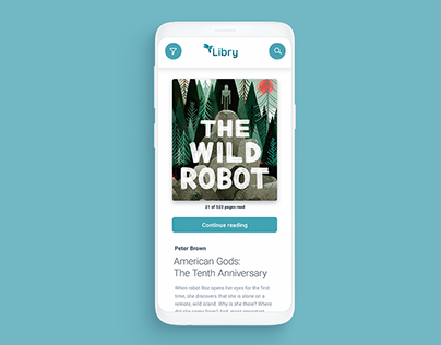 Libry - Android App and Branding
